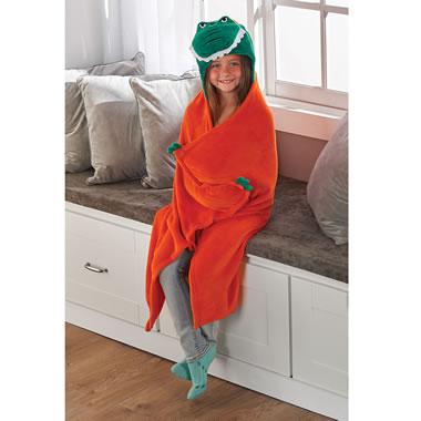The Future Alumnus' Hooded Blanket