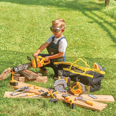 The Apprentice's Personalized Play Power Tools