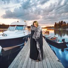 The Boater's Waterproof Luxury Blanket