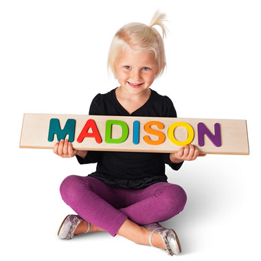 The Personalized Wooden Name Puzzle