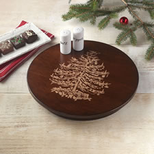 The Holiday Lazy Susan