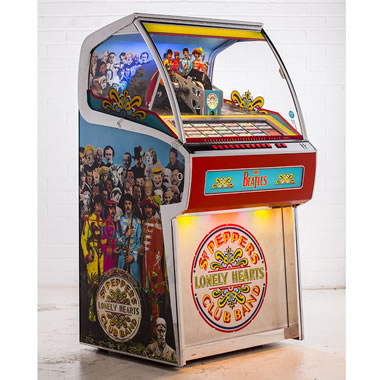 Sgt Pepper's Vinyl Jukebox