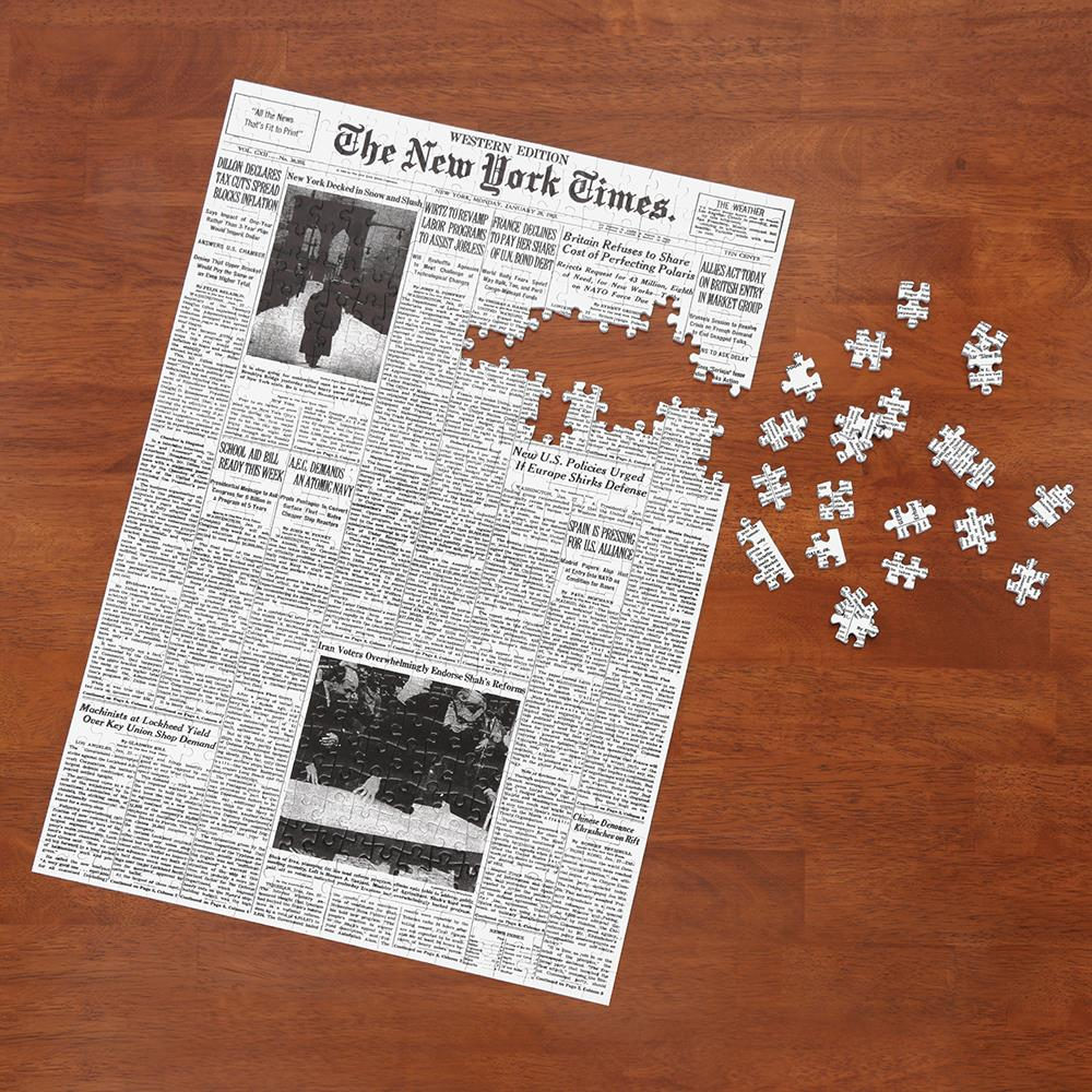 Toys For Infants >> The New York Times Jigsaw Puzzle Of Your Birth Date ...