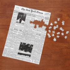 The New York Times Jigsaw Puzzle Of Your Birth Date