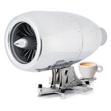 The Jet Engine Coffee Or Tea Machine