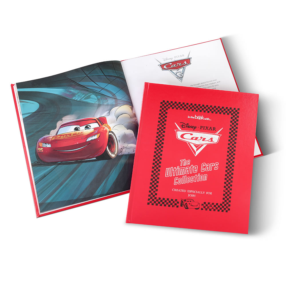 The Disney Pixar Cars Personalized Book