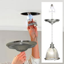 The Can Light To Pendant Light