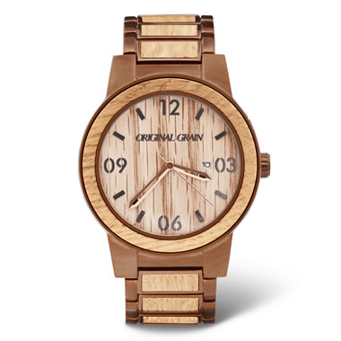 The Genuine Kentucky Bourbon Barrel Watch (Stainless Steel Band)