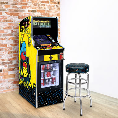 The Authentic Pac-Man Arcade And Beverage Cooler
