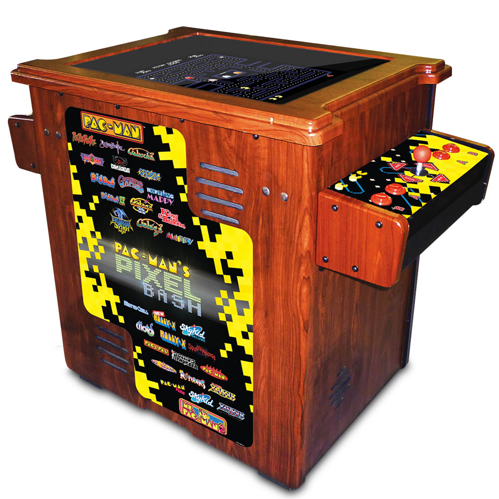 Pacman Table Game >> The Authentic Pac Man Arcade Cocktail Table