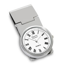 The Personalized Money Clip Watch