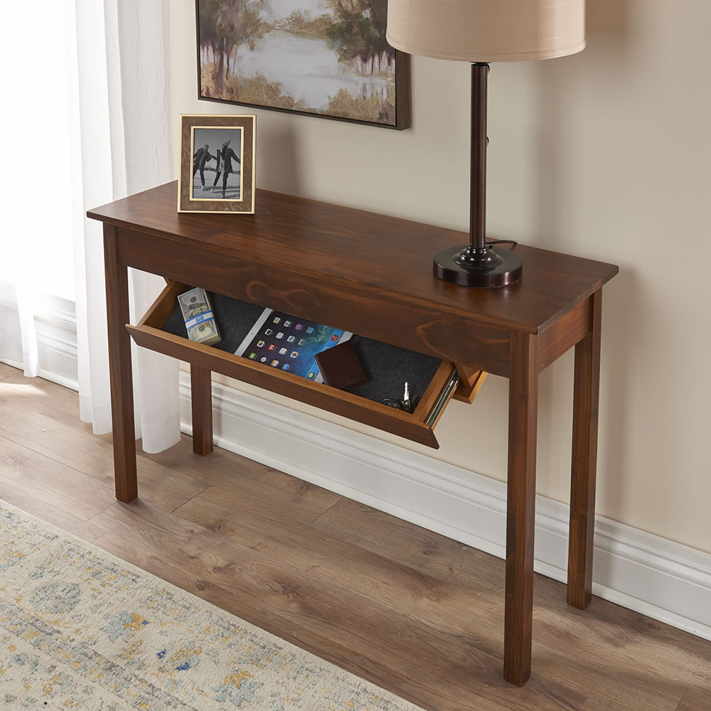The Concealed Drawer Furniture Console Table