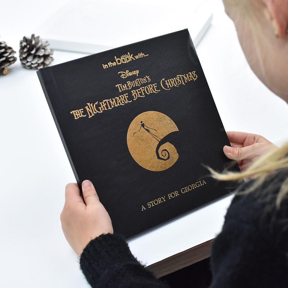 The Personalized Nightmare Before Christmas Picture Book - Hammacher ...