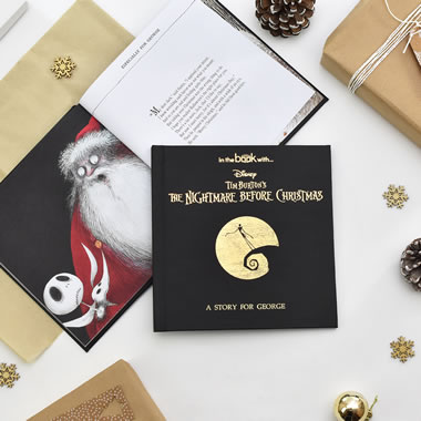 The Personalized Nightmare Before Christmas Picture Book