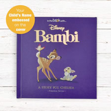 The Personalized Disney Bambi Book