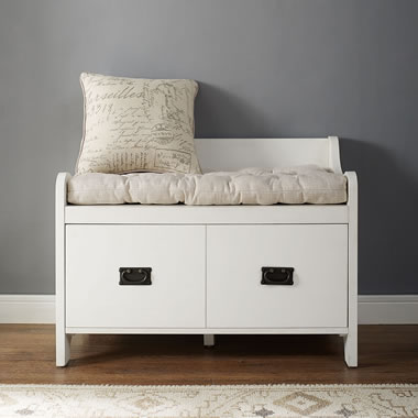The Cloakroom Bench with pillow