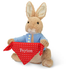The Personalized Peek A Boo Peter Rabbit