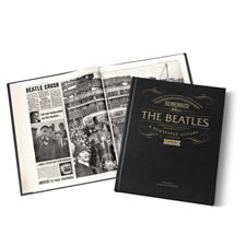 The Personalized Beatles British Newspaper History