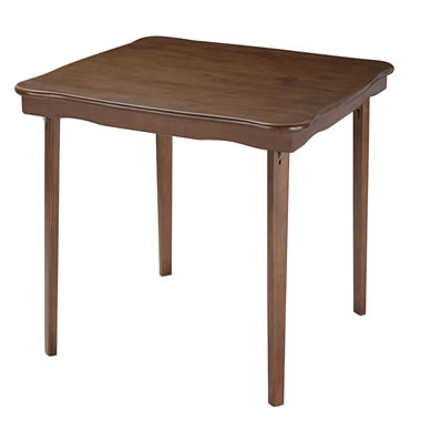 The Classic Folding Bridge Table (Fruitwood)