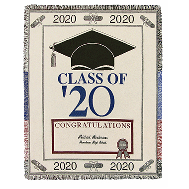 The Graduate's Woven Throw (2020)