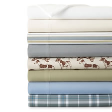 The Easy Care Flannel Alternative Sheets