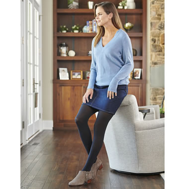The Circulation Improving Compression Tights (Footed)
