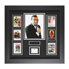 The Authentic Sean Connery Autographed James Bond Poster