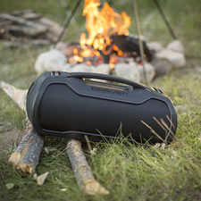 The Indestructible Portable Bluetooth Speaker