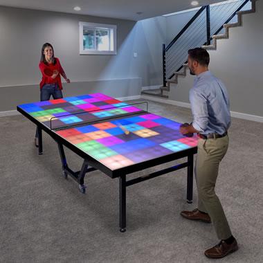 The De-Illuminating Table Tennis