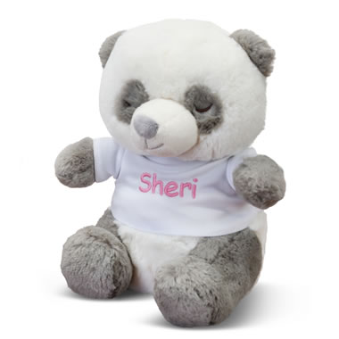 Personalized Infants Sleep Sound Panda pair