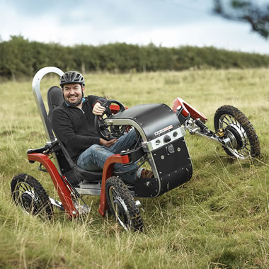 The Electric All Terrain Pendular Quadricycle
