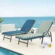 http://www.hammacher.com - The Reversible Outdoor Patio Furniture Cushion (Lounge Chair) 89.95 USD