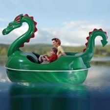 The Amusement Park Dragon Pedal Boat