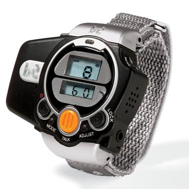 The 2-Way Radio Wristwatch.