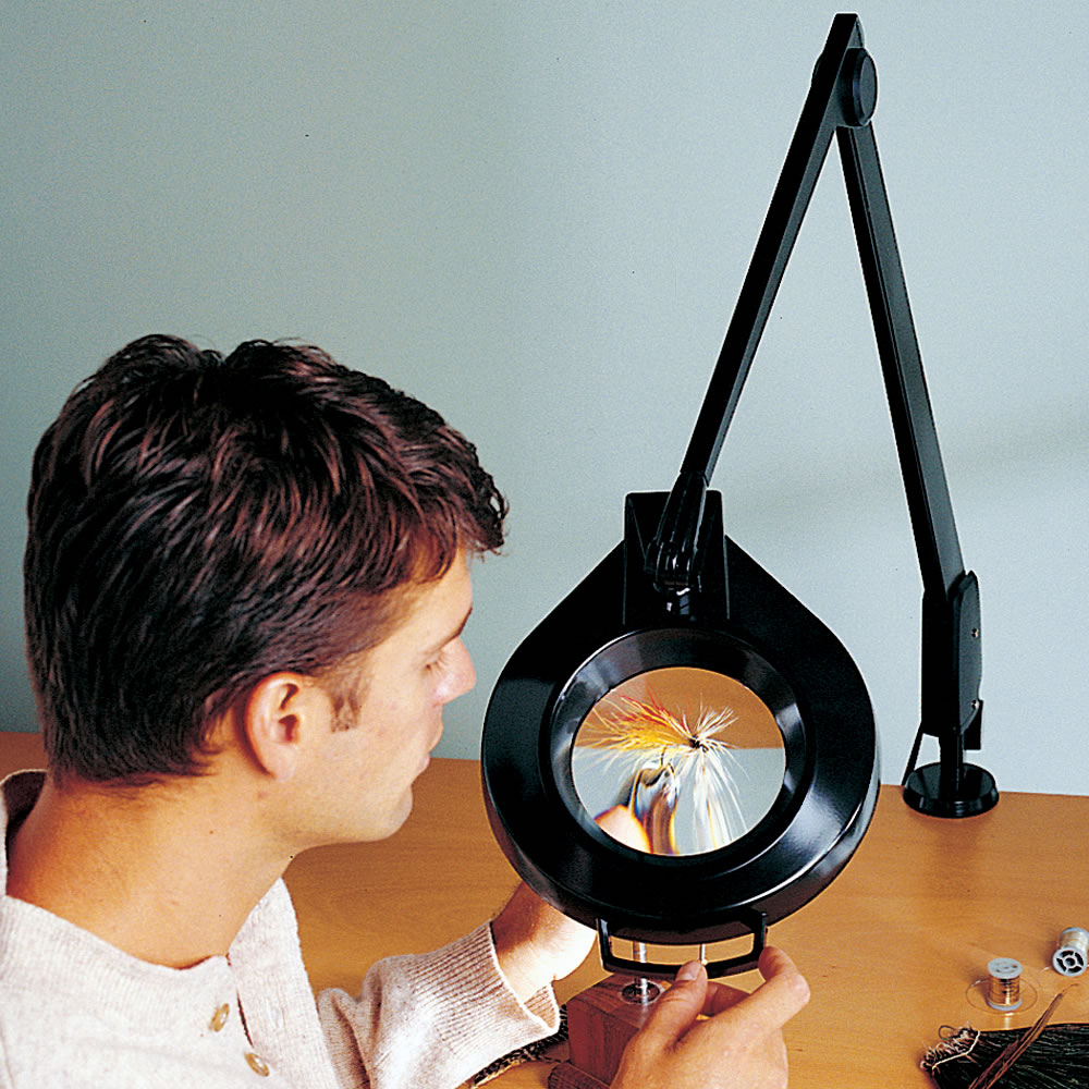 The professionals floor standing magnifier lamp hammacher schlemmer the professionals floor standing magnifier lamp aloadofball Gallery