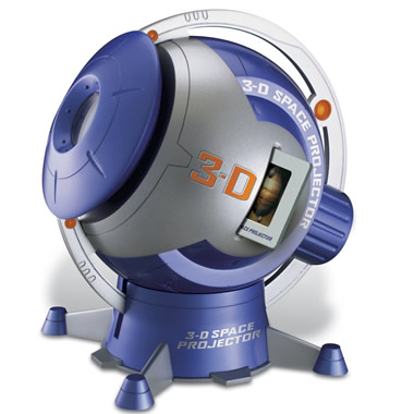 The 3 D Planetarium Adventure Projector.