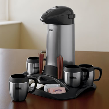 The All-In-One Coffee Set.