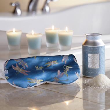 The Aromatherapy Gift Set.