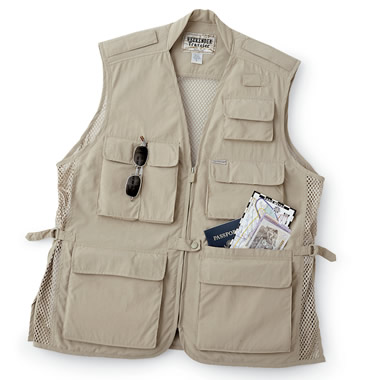 The Carry All Travel Vest.