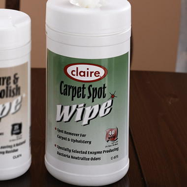 The Carpet Spot Wipes.