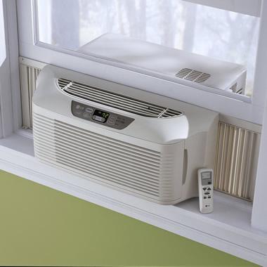 The Efficient Slim Profile Window Air Conditioner.