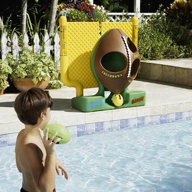 The Backyard Quarterback's Pool Toss.