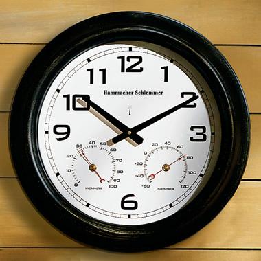 The 18 Inch Diameter Oversized Outdoor Weather Clock.