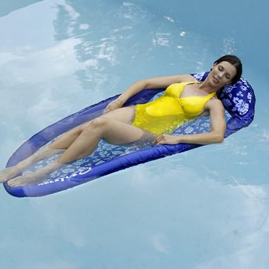 The Floating Single Hammock Hammacher Schlemmer