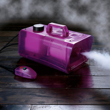 The 2,500-Cubic-Foot Fog Machine.