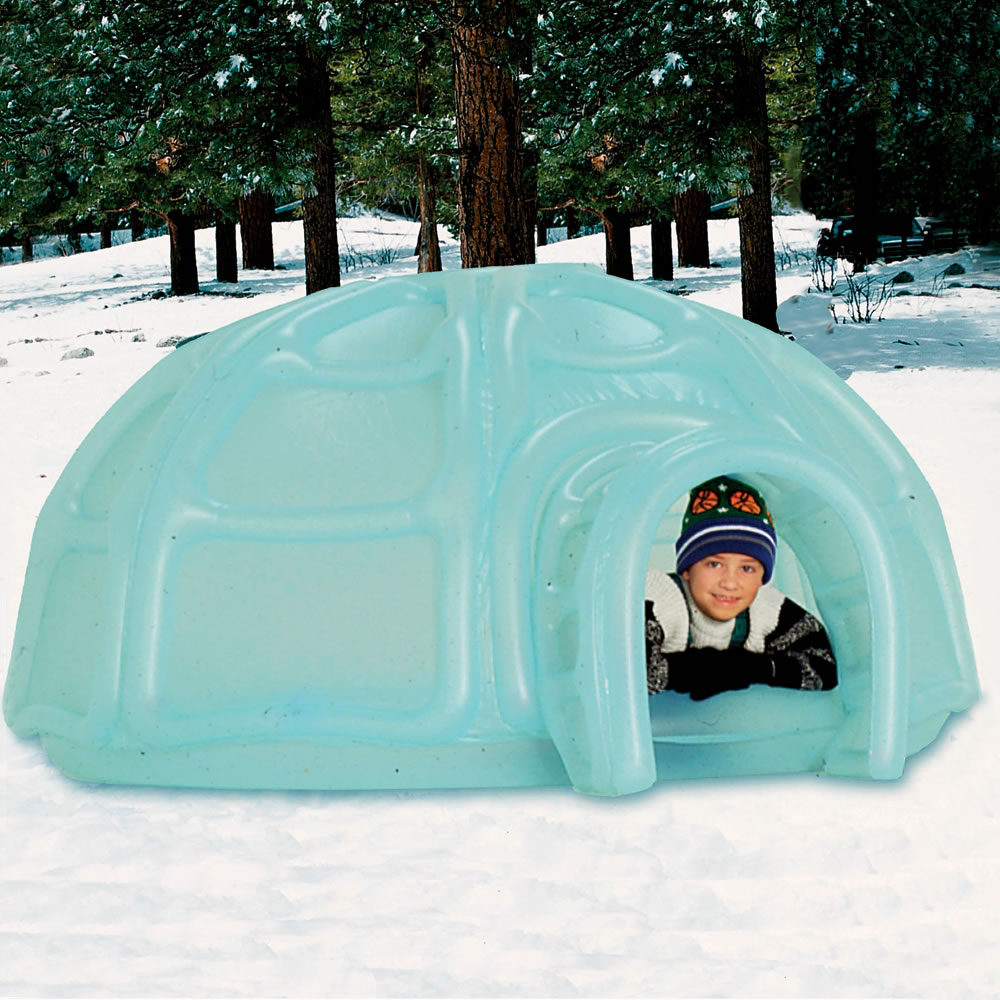 & The Inflatable Igloo play Center - Hammacher Schlemmer