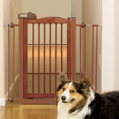 The Best Wooden Pet Gate.