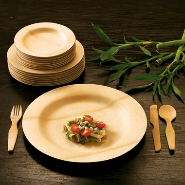 The Durable 100% Bamboo Dining Utensils.