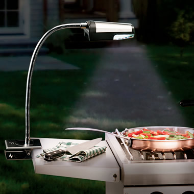 The First Cordless LED Grill Light.