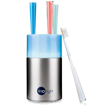 The Million Germ Eliminating Toothbrush Sanitizer